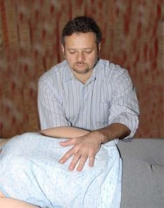 dr. alex kaminsky treated patient with craniosacral therapy